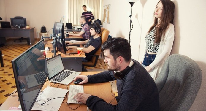 Photo of the uKit development team