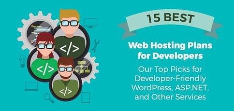 15 Best: Web Hosting for Developers — ASP.NET & WP Tools (2020)