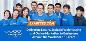 Exabytes: 15+ Years of Delivering Secure, Scalable Hosting and Online Marketing Solutions to Thousands of SMEs Around the World