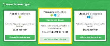 AdGuard Pricing Plans