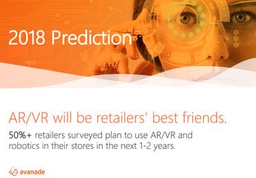 Avanade 2018 retail prediction for AR/VR