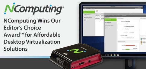 Ncomputing Award For Affordable Desktop Virtualization Solutions