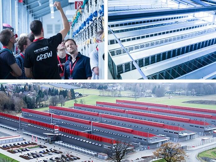 Images of Hetzner Online datacenter