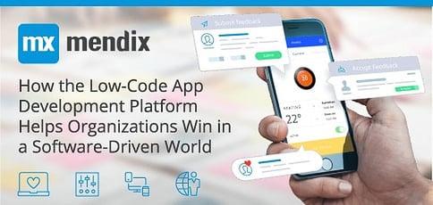 Mendix Eases App Builds With A Low Code Dev Platform
