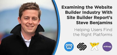 Site Builder Report Founder Steve Benjamins Helps Users Find The Right Platforms