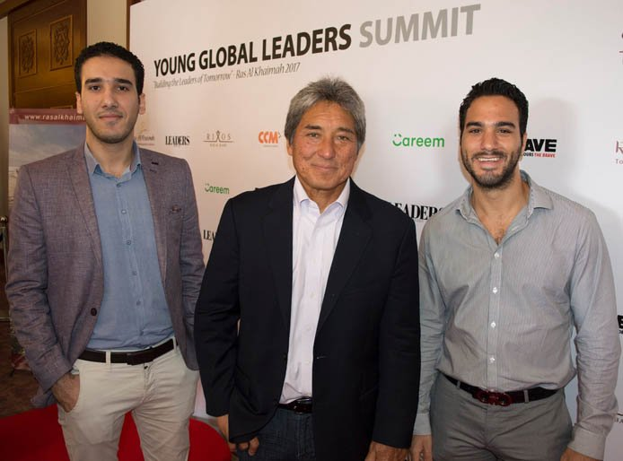 Photo of Shehab Ahmed, Guy Kawasaki, and Khalid Cook