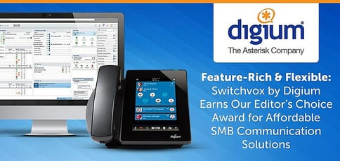 Switchvox By Digium Award For Affordable Smb Communication