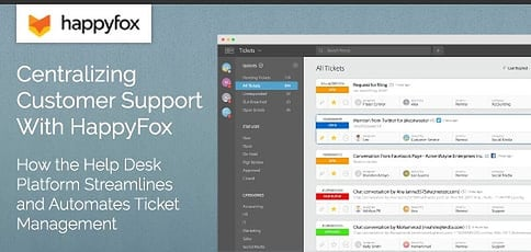 Centralizing Customer Support With Happyfox