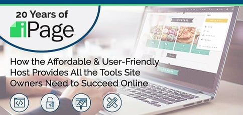 20 Years Ipage Affordable User Friendly Host Provides Tools Site Owners Small Businesses Need Succeed Online
