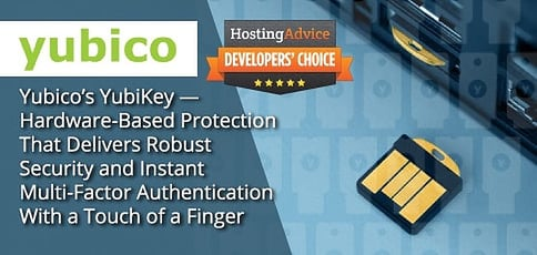 Yubico Delivers Multi Factor Authentication With A Touch Of A Finger