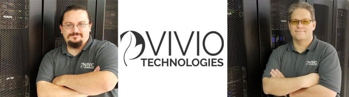 Images of Vivio Technologies Co-Founders and company logo