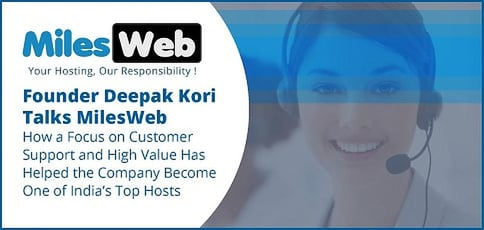 Milesweb Helps The Indian Small Business Community Build Web Presence