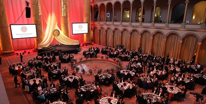 Image of National Inventors Hall of Fame induction ceremony