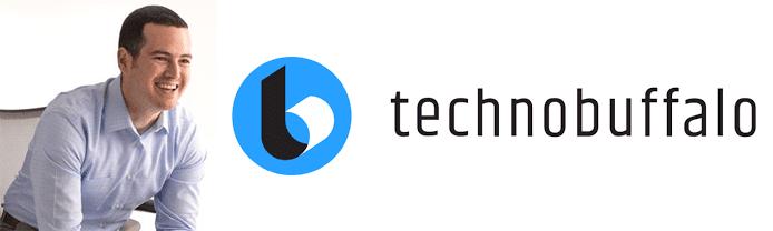 Photo of Jon Rettinger and the TechnoBuffalo logo