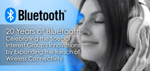 20 Years of Bluetooth: Celebrating the Special Interest Group's Innovations by Expanding the Reach of Wireless Connectivity