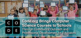 Code.org Brings Computer Science Courses to Schools Through Community Outreach and Professional Development for Educators