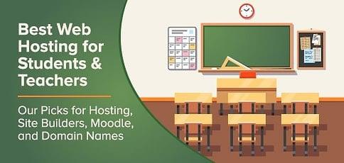 Web Hosting For Students Teachers