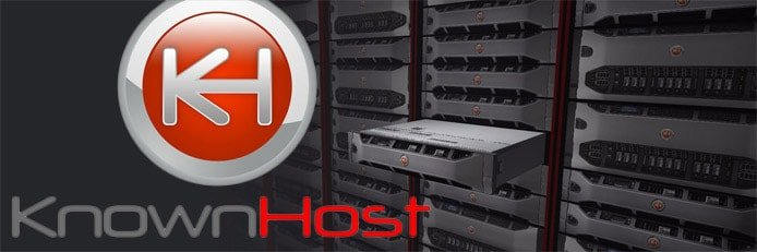 KnownHost logo in front of servers