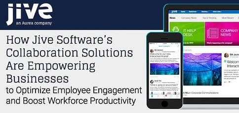 Jive Software Delivers Comprehensive Collaboration Solutions
