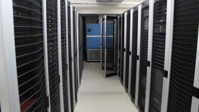 Photo of a JaguarPC datacenter