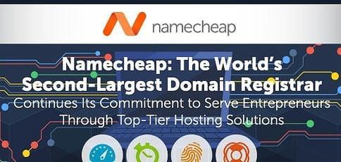 Namecheap Delivers Stellar Hosting Solutions To Web Entrepreneurs