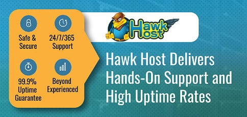 Hawk Host Delivers Hands On Support And High Uptime Rates