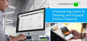 WebStarts — How the Company's Intuitive Drag-and-Drop Builder Empowers Users to Quickly and Easily Develop and Expand Their Online Presence