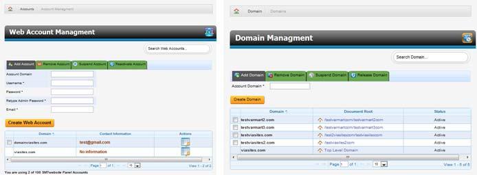 Screenshots of AIT SMT 6
