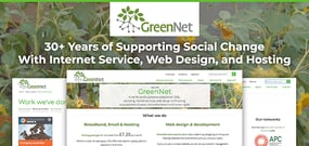 GreenNet: Over 30 Years of Supporting Social Change by Supplying Internet Service, Web Design, and Hosting to Activists and Nonprofits