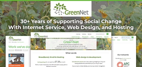 Greennet Supports Social Change With Internet Services