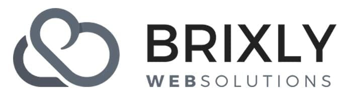 Headshot of Brixly CEO Dennis Nind and company logo