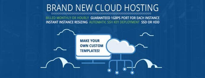Promotional graphic of Hostwinds' Cloud Platform
