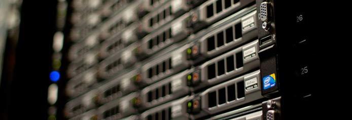 A photo of a server