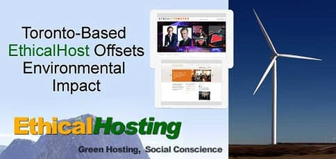 Sustainable Hosting: EthicalHost Founder John MacKenzie Details How the Toronto-Based Provider Offsets Its Environmental Impact