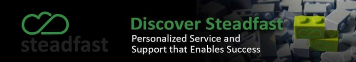 Banner promoting personalized service