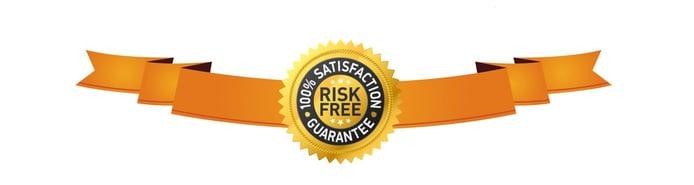 Satisfaction guarenteed logo