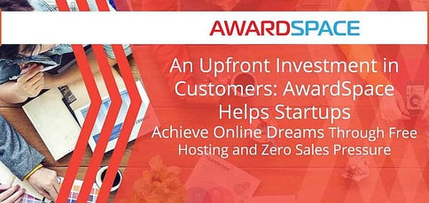 Awardspace Offers Free Hosting That Helps Startups Achieve Online Dreams