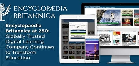 Encyclopedia Britannica Continues To Transform Education