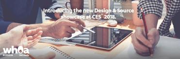 Screenshot of CES 2018 Design & Source teaser