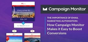 The Importance of Email Marketing Automation: How Campaign Monitor Makes it Easy to Boost Conversions