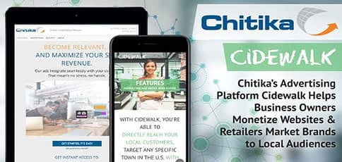 Chitika Ad Platform Cidewalk Reaches Local Audiences