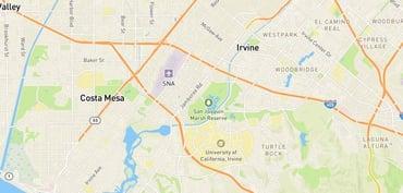 Screenshot of Mapbox navigational integration