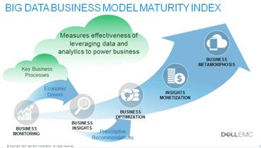 Big Data Business Model Maturity graphic
