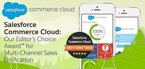 Salesforce Commerce Cloud: Our Editor's Choice Award™ for Multi-Channel Sales Unification