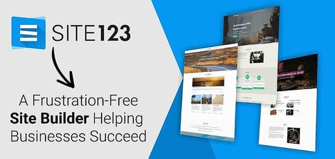 Site123 Is A Frustration Free Site Builder Helping Businesses Succeed