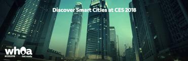 Screenshot of CES 2018 smart cities teaser