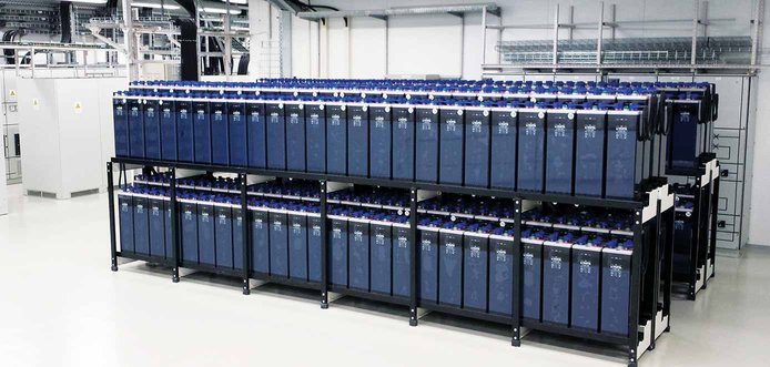 Image of servers in a Contabo datacenter
