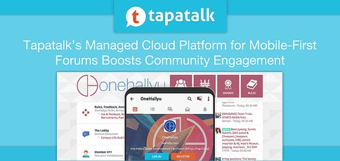 Tapatalks Managed Cloud Platform For Mobile First Community Engagement