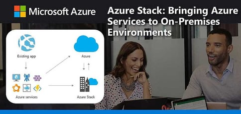 Azure Stack Brings Azure Services To On Premises Environments