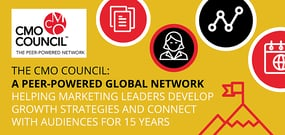 The CMO Council: A Peer-Powered Global Network Helping Marketing Leaders Develop Growth Strategies and Connect with Audiences for 15 Years